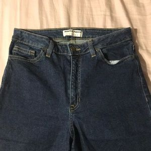 American Eagle high waisted jeans!